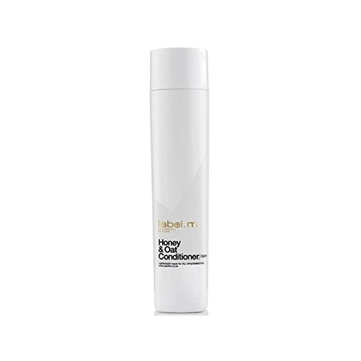 グリップ遺伝的鉱夫Label.M Honey & Oat Conditioner (300ml) (Pack of 6) - .ハニー&オーツ麦コンディショナー(300ミリリットル) x6 [並行輸入品]