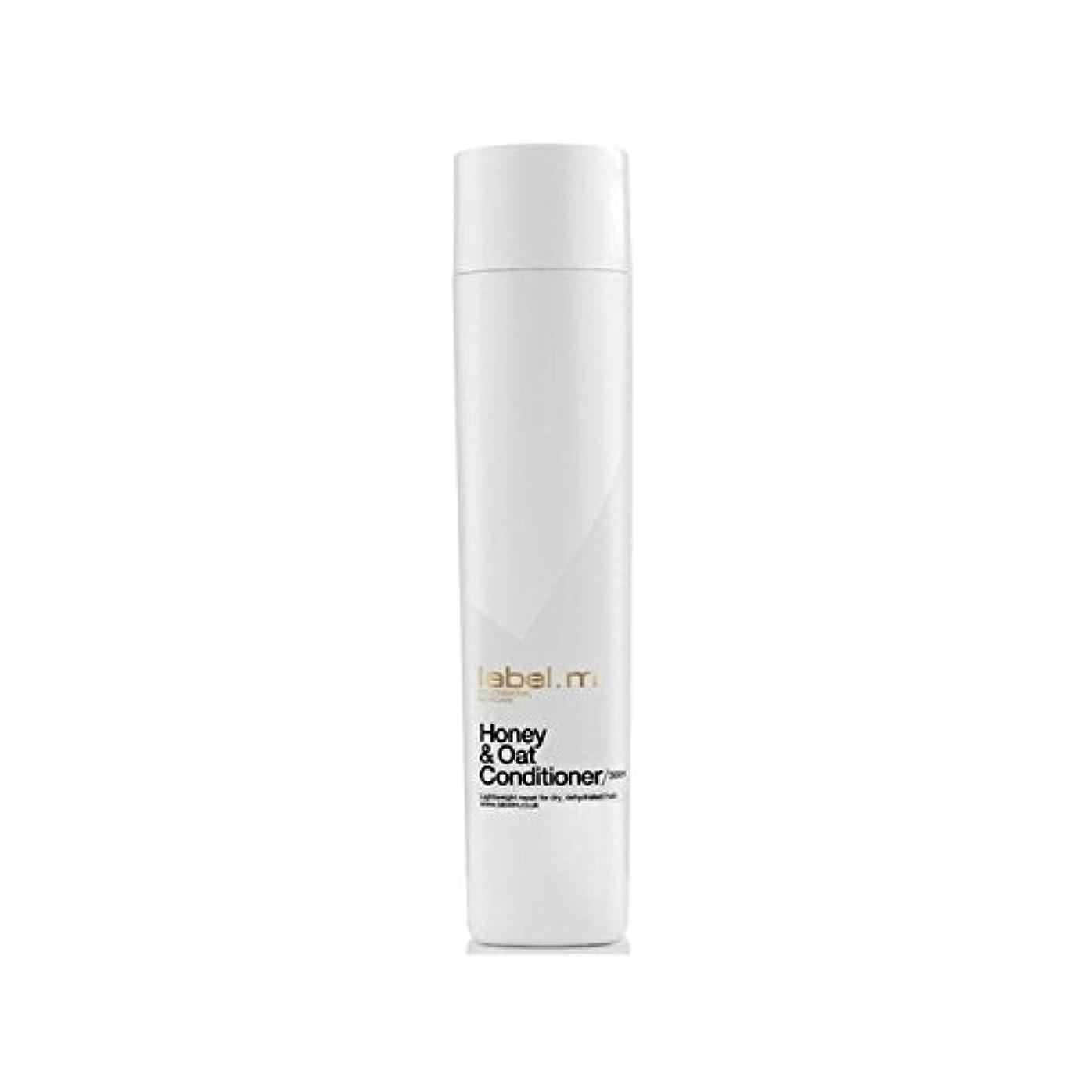 ハーブ海外でポップLabel.M Honey & Oat Conditioner (300ml) (Pack of 6) - .ハニー&オーツ麦コンディショナー(300ミリリットル) x6 [並行輸入品]