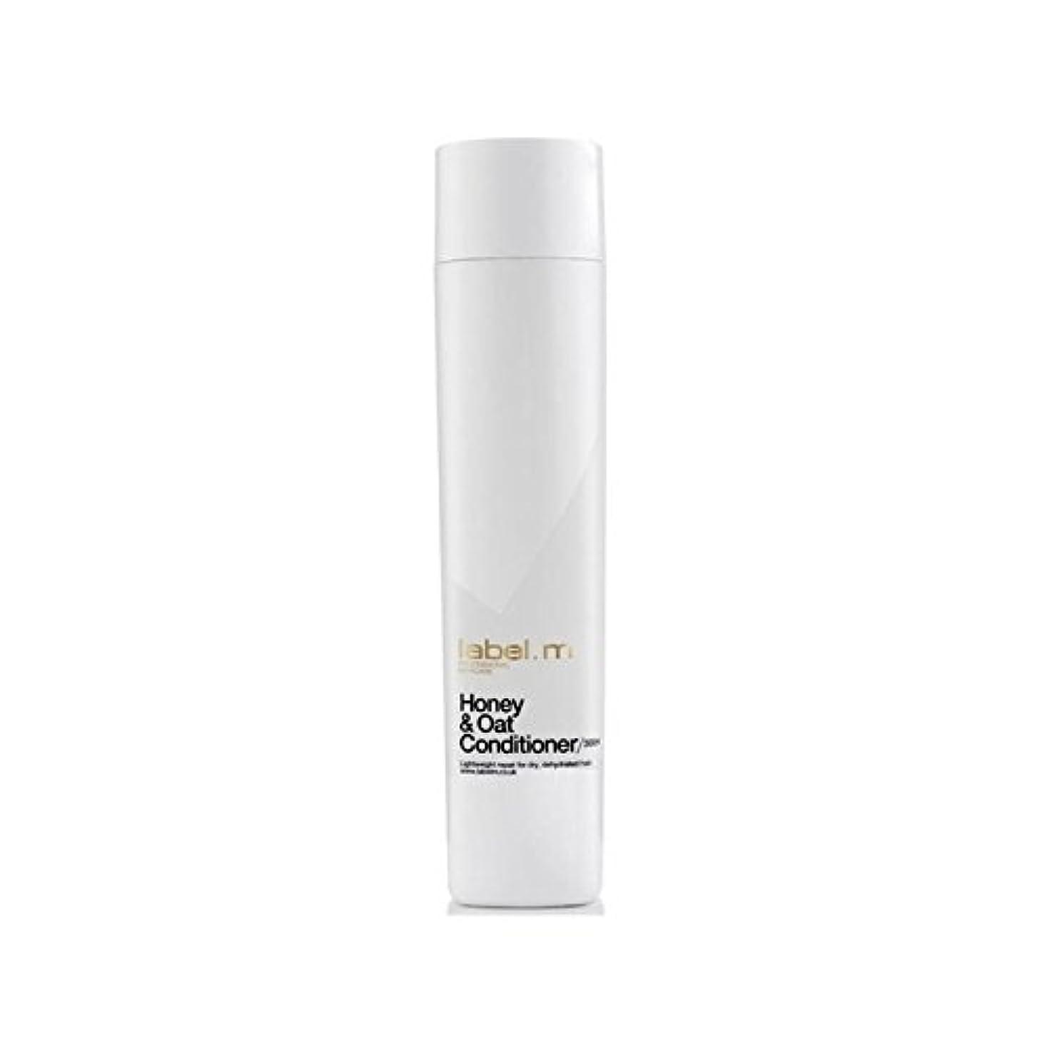 化学蒸気仲間、同僚.ハニー&オーツ麦コンディショナー(300ミリリットル) x4 - Label.M Honey & Oat Conditioner (300ml) (Pack of 4) [並行輸入品]