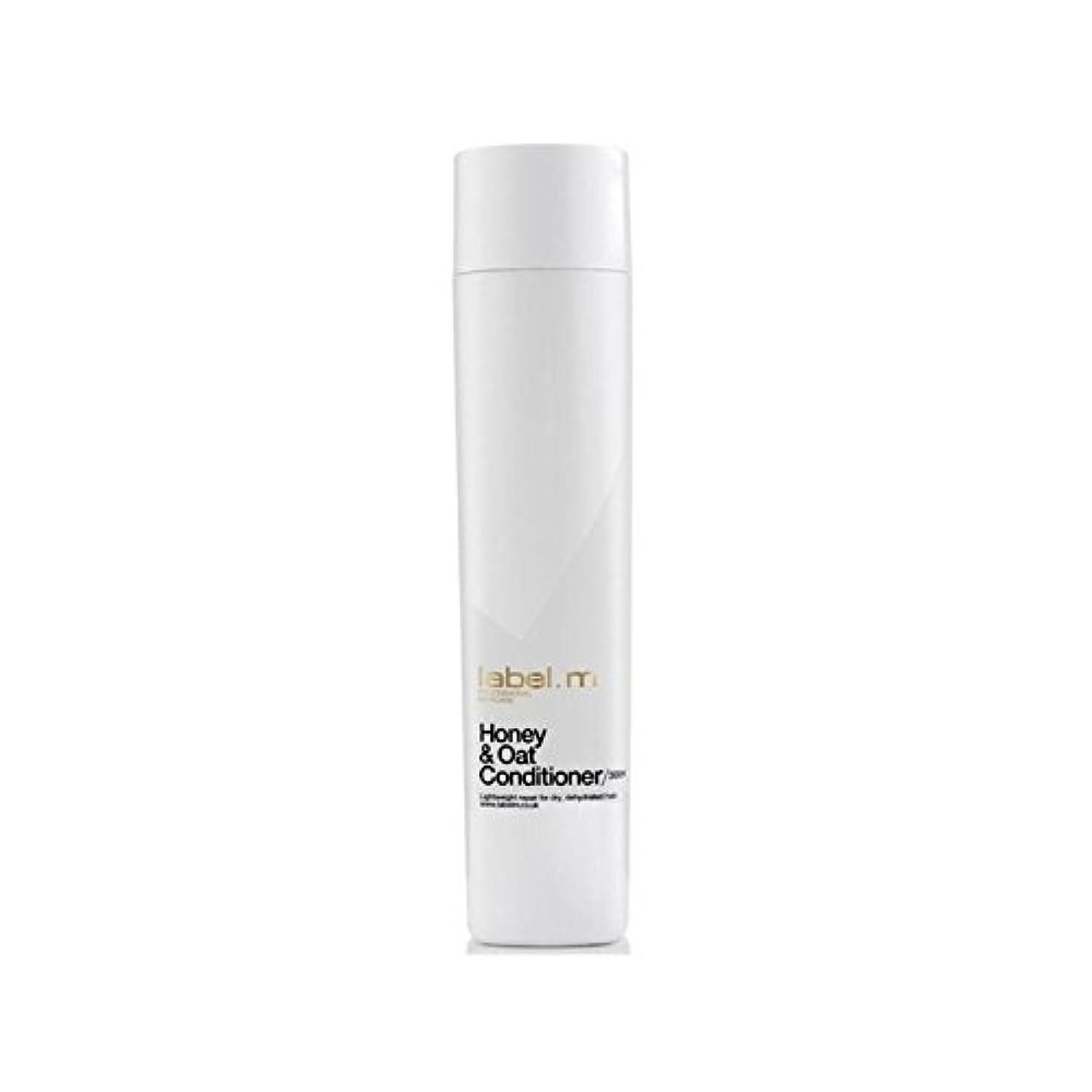 外観大胆レイアLabel.M Honey & Oat Conditioner (300ml) - .ハニー&オーツ麦コンディショナー(300ミリリットル) [並行輸入品]
