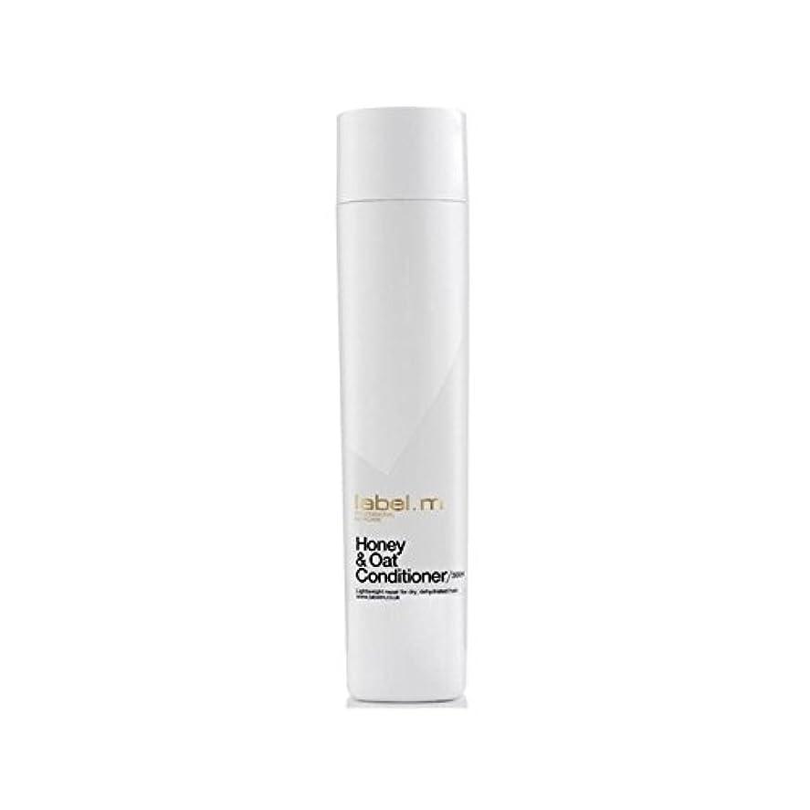 ハーネス近代化経営者Label.M Honey & Oat Conditioner (300ml) (Pack of 6) - .ハニー&オーツ麦コンディショナー(300ミリリットル) x6 [並行輸入品]