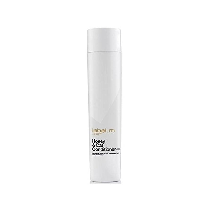 ウォルターカニンガム経済シャックル.ハニー&オーツ麦コンディショナー(300ミリリットル) x2 - Label.M Honey & Oat Conditioner (300ml) (Pack of 2) [並行輸入品]