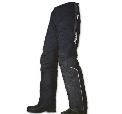 ラフ&ロード 防水透湿 クイックオープンオーバーパンツ ブラック L RR5084 BK-L