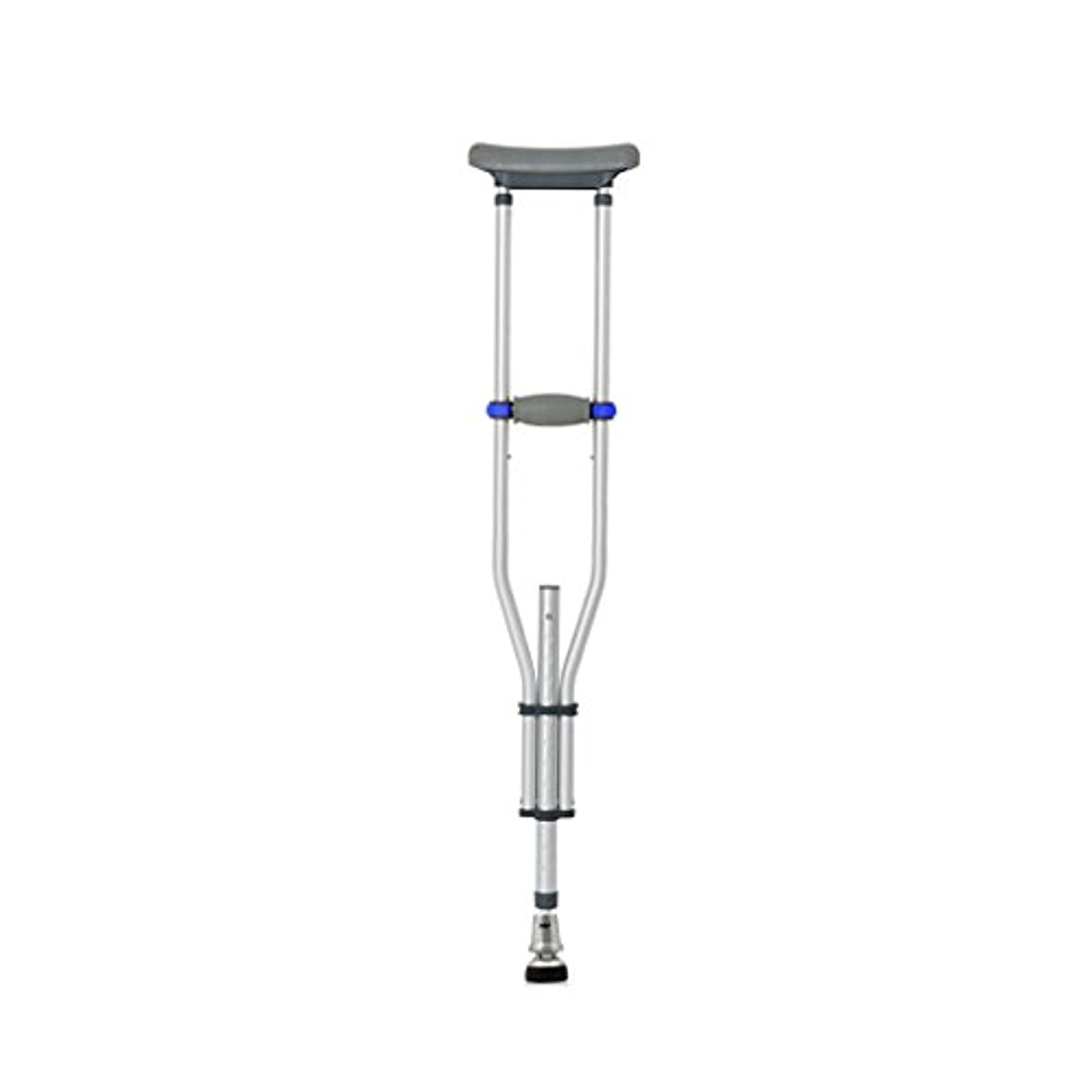 シソーラス慣れているマナーLYGT- 松葉杖/ウォーキングスティックトリプルアルミ合金の脇の下の松葉杖伸縮性のある厚い耐久性のある滑り止めのシングル