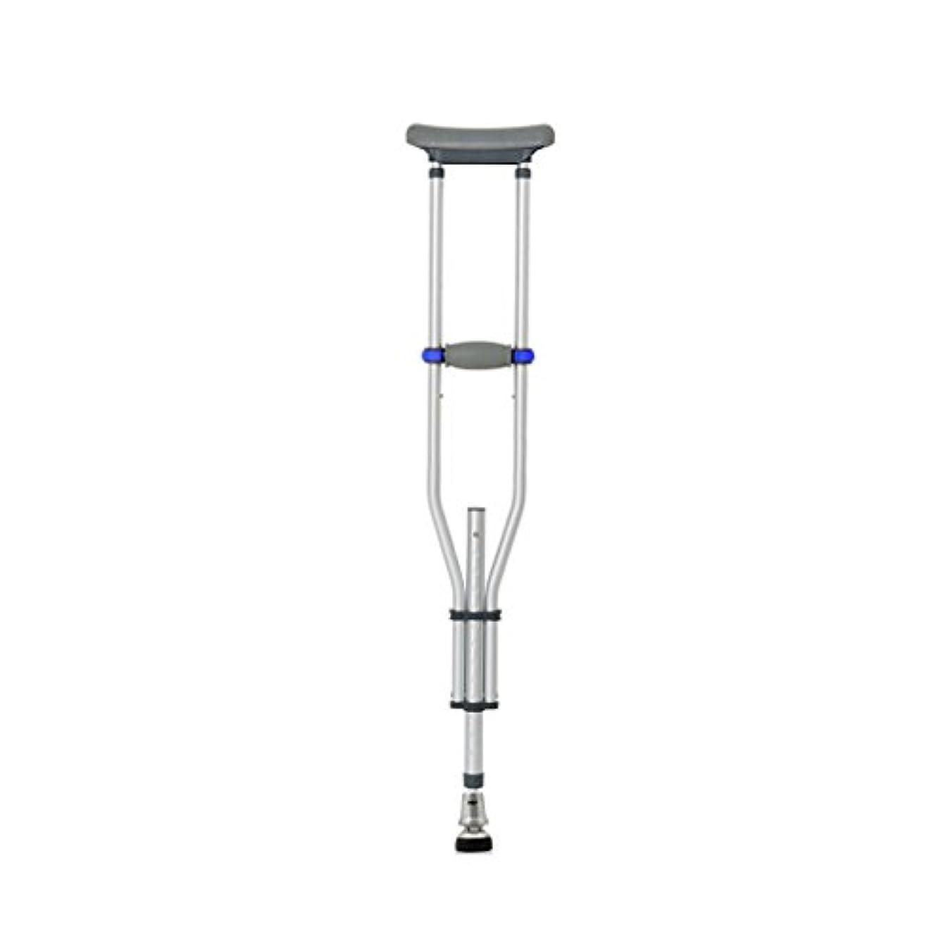 肝月曜シャンパンLYGT- 松葉杖/ウォーキングスティックトリプルアルミ合金の脇の下の松葉杖伸縮性のある厚い耐久性のある滑り止めのシングル