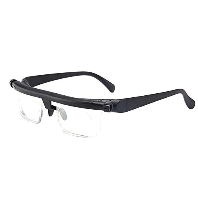 蒸気農村シーケンスIntercorey Tr90焦点距離調整老眼鏡は、-6D?+ 3D度の近視老眼鏡に調整できます。