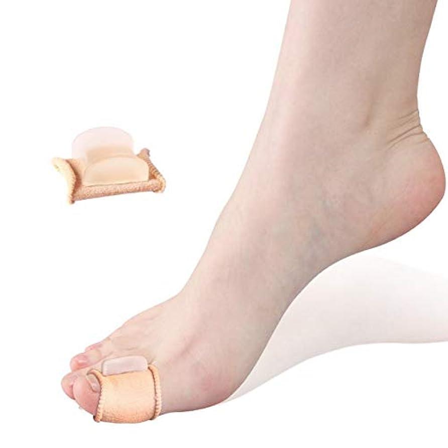低下電子抜け目がないFoot Care Hallux Valgus Silicone Toe Separation Protector Hallux Valgus Guard Cushion Bunion Toe Separator