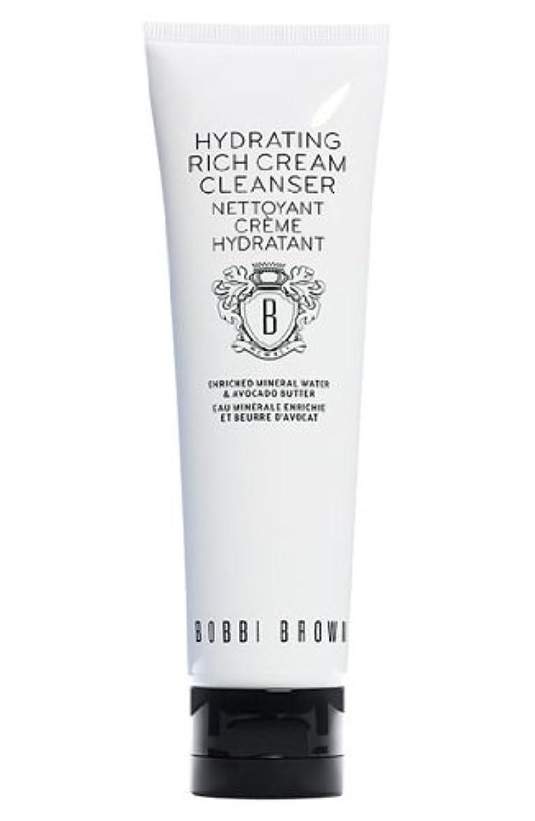 ポット高める金銭的Bobbi Brown Hydrating Rich Cream Cleanser (ボビーブラウン ハイドレイティングリッチクリームクレンザー) 4.2 oz (126ml)