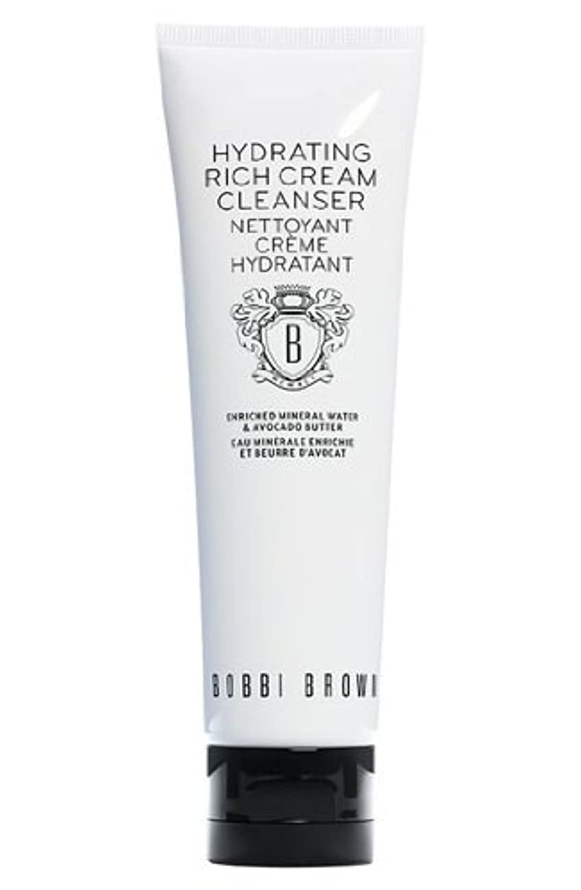 マンハッタンアウトドア容赦ないBobbi Brown Hydrating Rich Cream Cleanser (ボビーブラウン ハイドレイティングリッチクリームクレンザー) 4.2 oz (126ml)