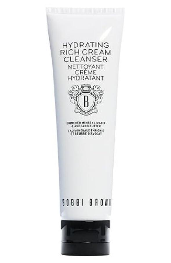 縫い目アナロジー依存するBobbi Brown Hydrating Rich Cream Cleanser (ボビーブラウン ハイドレイティングリッチクリームクレンザー) 4.2 oz (126ml)