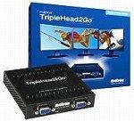 Matrox グラフィックボックス GXM TripleHead2Goデジタル版 T2G/D