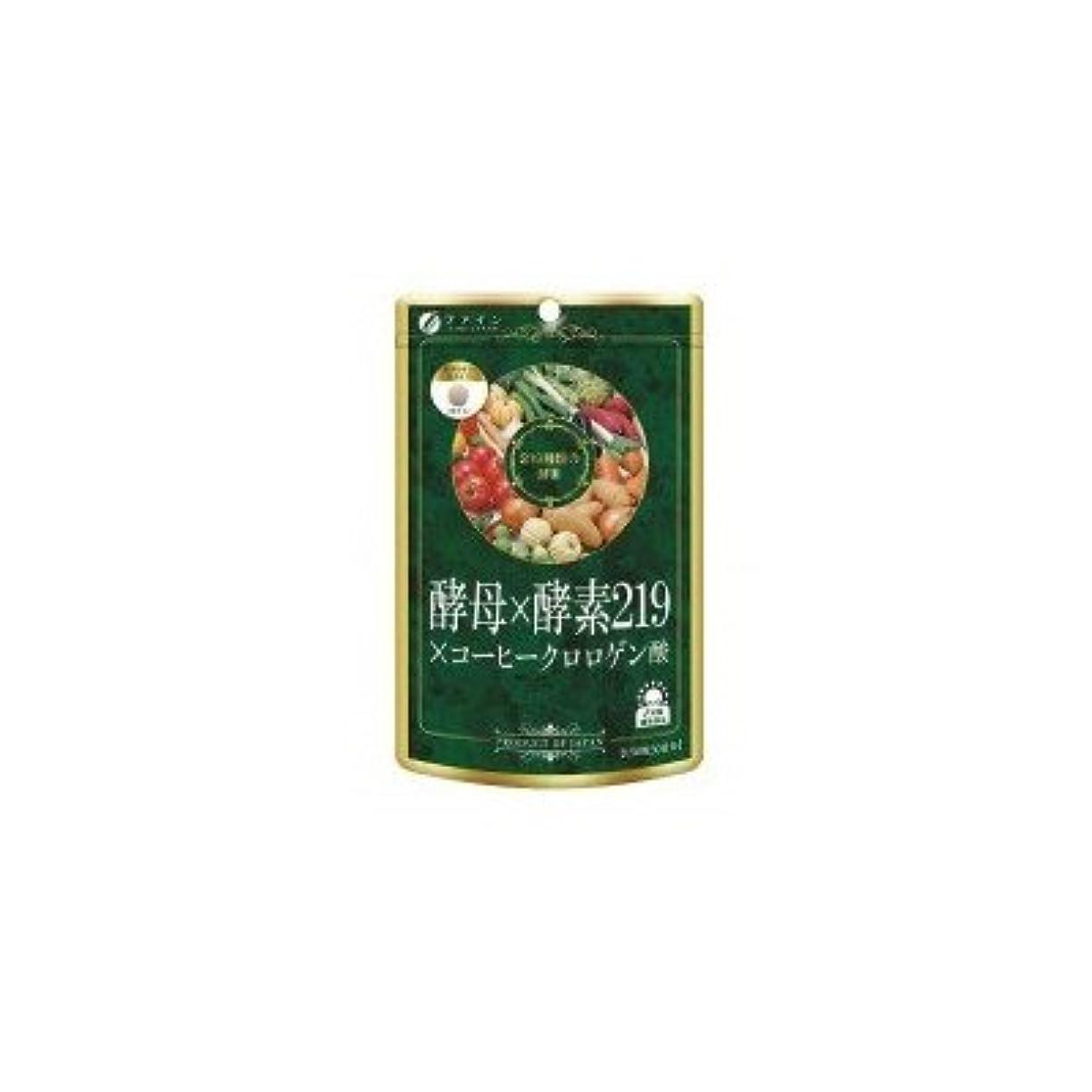 ポスターツールふつうファイン 酵母×酵素219×コーヒークロロゲン酸 45g(300mg×150粒)