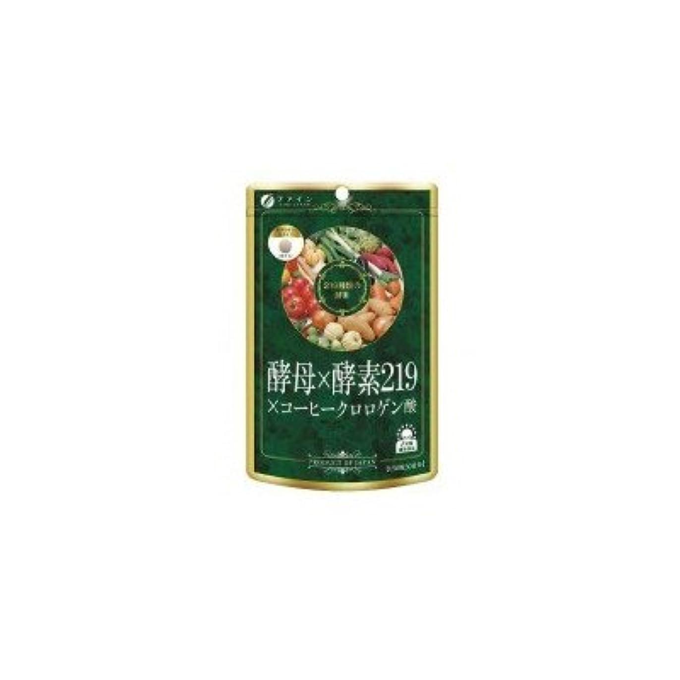 九月挑発する愛情ファイン 酵母×酵素219×コーヒークロロゲン酸 45g(300mg×150粒)