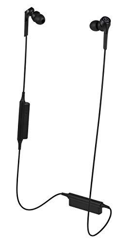 オーディオテクニカ Bluetooth対応 ダイナミック密閉型カナルイヤホン(ブラック)audio-technica SOLID BASS ATH-CKS550XBT BK