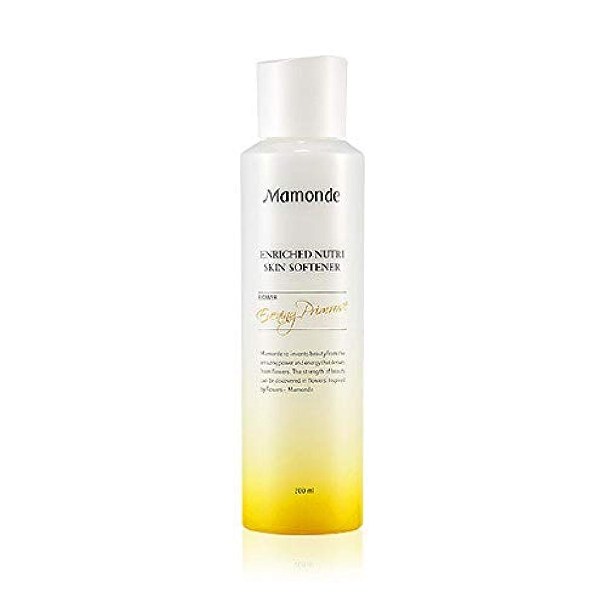 予防接種一元化する蓮Mamonde Enriched Nutri Skin Softener 200ml/マモンド エンリッチド ニュートリ スキン ソフナー 200ml