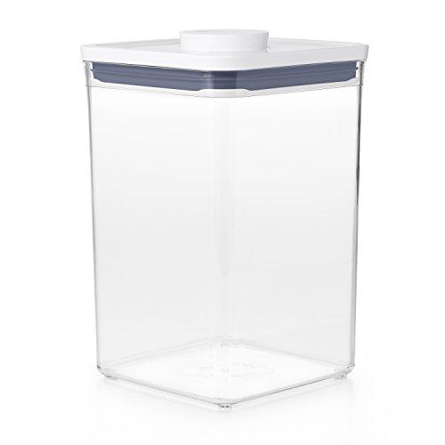 OXO 保存容器 プラスチック 4.2L ポップコンテナ2 新タイプ ビックスクエア ミディアム 11233500