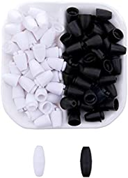 Mamimami Home Plastic Connecting Clasps Black and White Handmade Small Craft Materials Craft Supplies Easy to