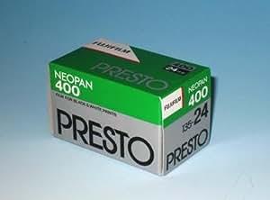 FUJIFILM 黒白ネガフイルム ネオパン 400 PRESTO 35mm 24枚 1本 135 PRESTO 24EX 1