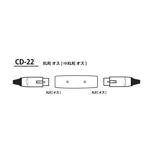 TECH 変換プラク XLR(オス)⇔XLR(...の紹介画像2