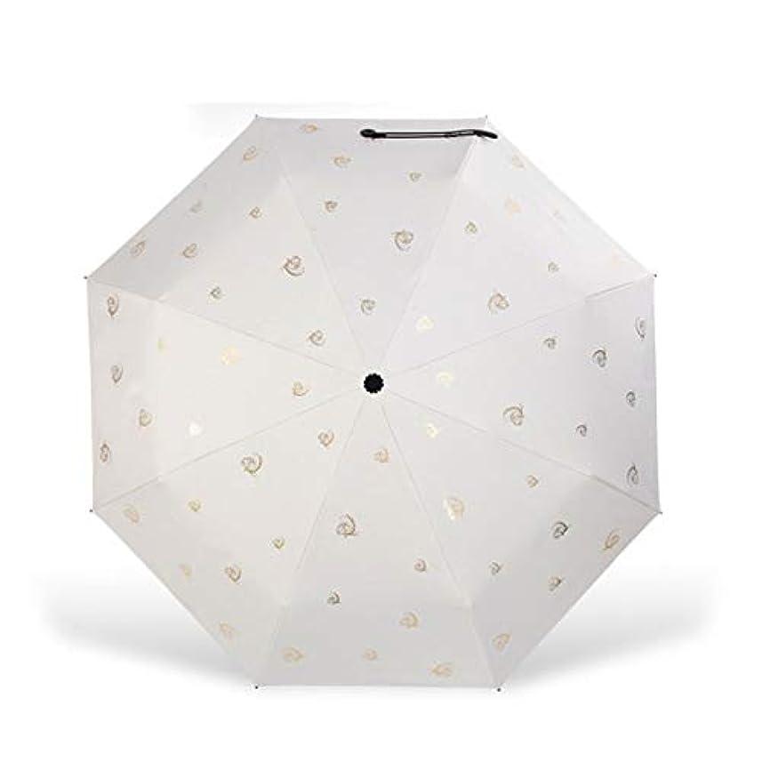 黙認するスパイラルパーティションHOHYLLYA 小さな新鮮なビニールUV傘大傘持続保護防風傘日傘 sunshade (Color : ピンク)