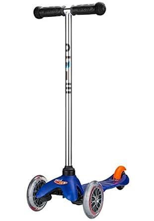 ミニ・マイクロ / Mini Micro (ブルー/ Blue )(キックボード)(3才~5才) 重量1.5kg!!安定性があり、スイスデザイン、 多数の賞を獲得, SG 規格製品安全基準合格品