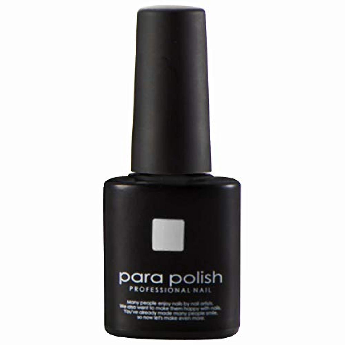 降臨ラブ舗装するパラジェル para polish(パラポリッシュ) カラージェル MD6 ライトグレー 7g