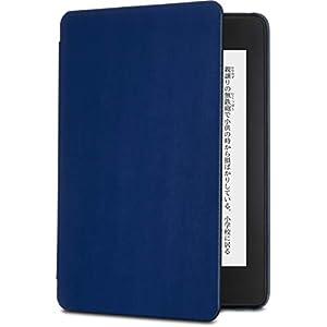 Amazon認定 【Kindle Paperwhite (第10世代)用カバー】Nupro スリムカバー ネイビー