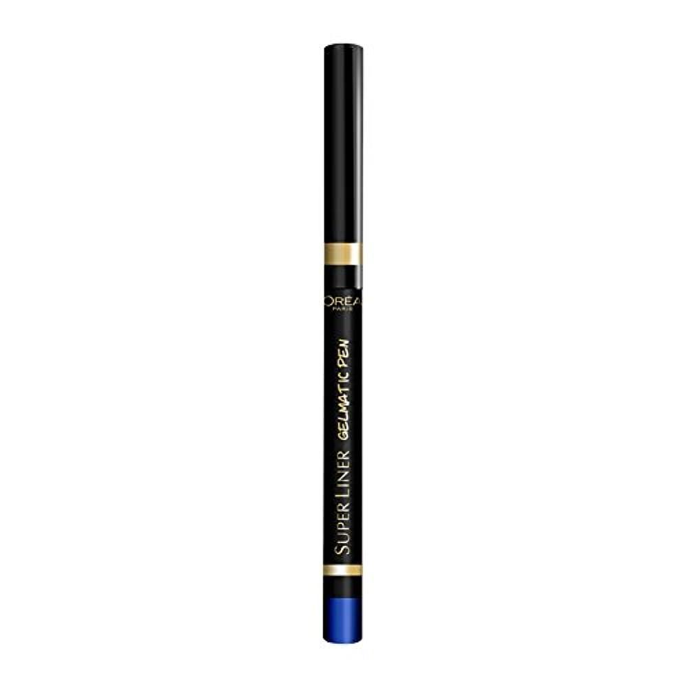 たっぷり連続的傾向がありますロレアル パリ スーパーライナー ジェルマティックペン 05 ブルーフォース
