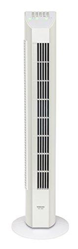 山善 扇風機 タワーファン リモコン/風量3段階 タイマー付 ホワイト YSR-J802(W)