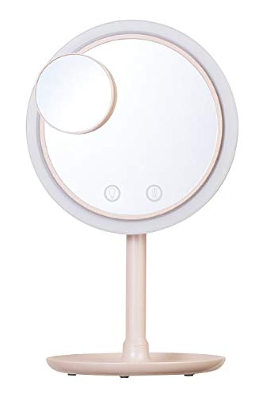 ボールワーディアンケーススラッシュSIMPLE MIND Airy Make Fan Mirror エアリー メイク ファン ミラー 化粧鏡 SMHB-012 (ピンク)