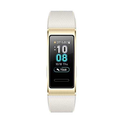 HUAWEI Band 3 Pro 0.95インチスマートウォッチ ゴールドGPS内蔵 5気圧耐水 iOS Android対応 Band 3 Pro Gold 【日本正規代理店品】