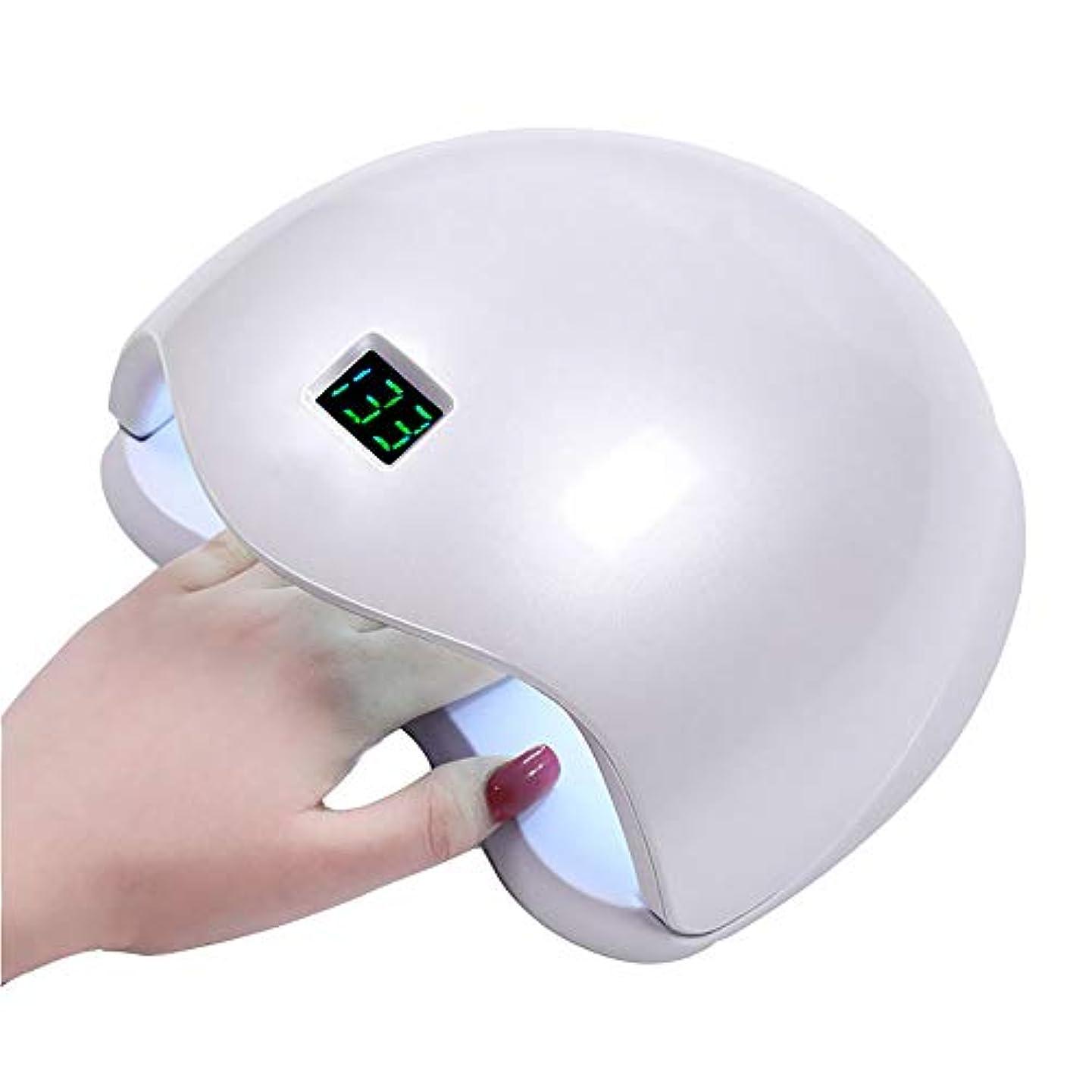 同種のまとめる部族釘のドライヤー - 自動赤外線センサー、二重光源のLEDランプのゲルのドライヤーのマニキュアが付いている紫外線携帯用LEDの釘ランプ