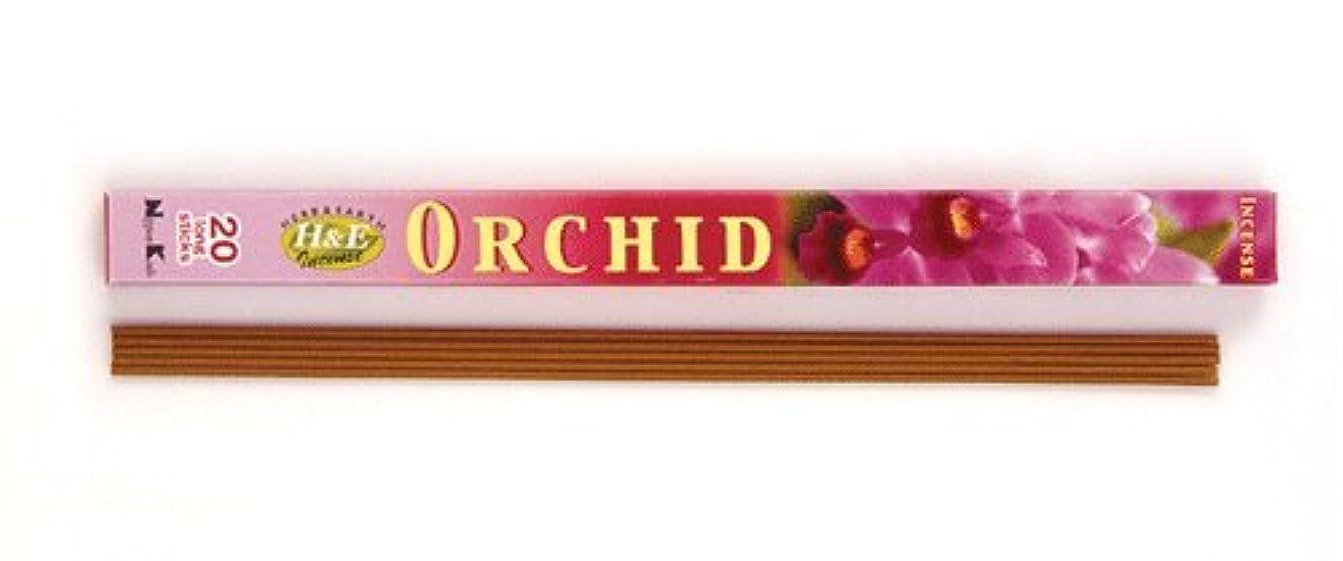 トリクルオプション消化器HERB&EARTH Incense ORCHID オーキッド スティック 【お香】