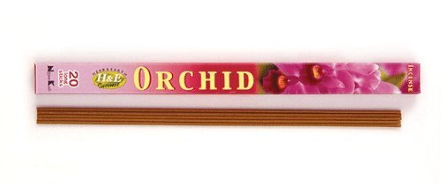 折中傷種類HERB&EARTH Incense ORCHID オーキッド スティック 【お香】