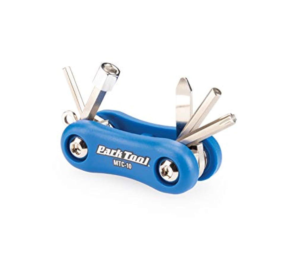 ドループ曖昧な経済的PARKTOOL(パークツール) マルチツール サイズ:六角3/4/5/8mm T25 +/-コンボドライバー MTC-10