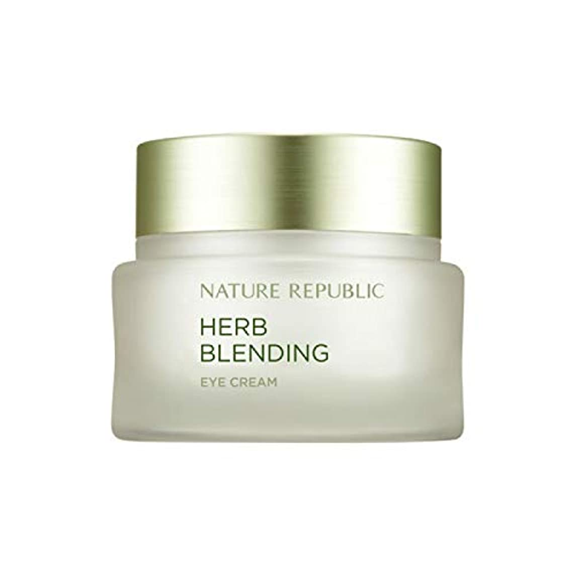 レトルトの間で偏心ネイチャーリパブリック(Nature Republic)ハブブレンドアイクリーム 25ml / Herb Blending Eye Cream 25ml :: 韓国コスメ [並行輸入品]