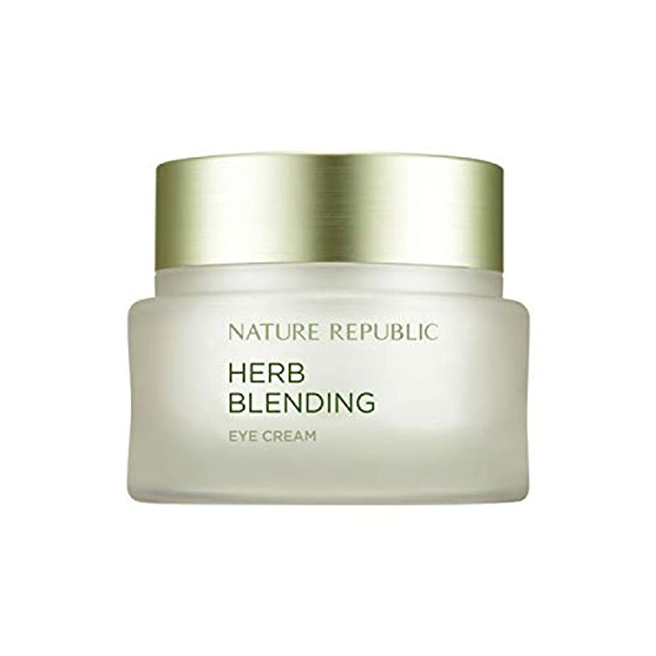 皮肉な開拓者船形ネイチャーリパブリック(Nature Republic)ハブブレンドアイクリーム 25ml / Herb Blending Eye Cream 25ml :: 韓国コスメ [並行輸入品]