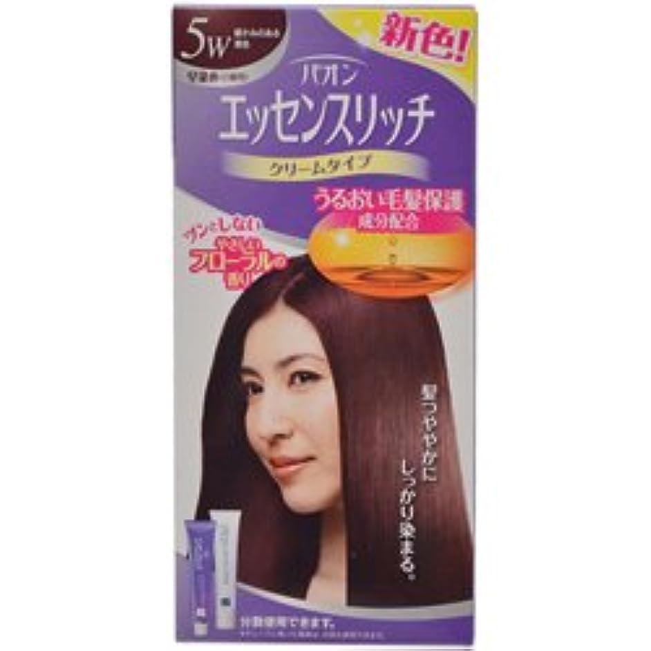 【シュワルツコフヘンケル】パオンエッセンスリッチクリーム 5W 暖かみのある栗色 ×20個セット