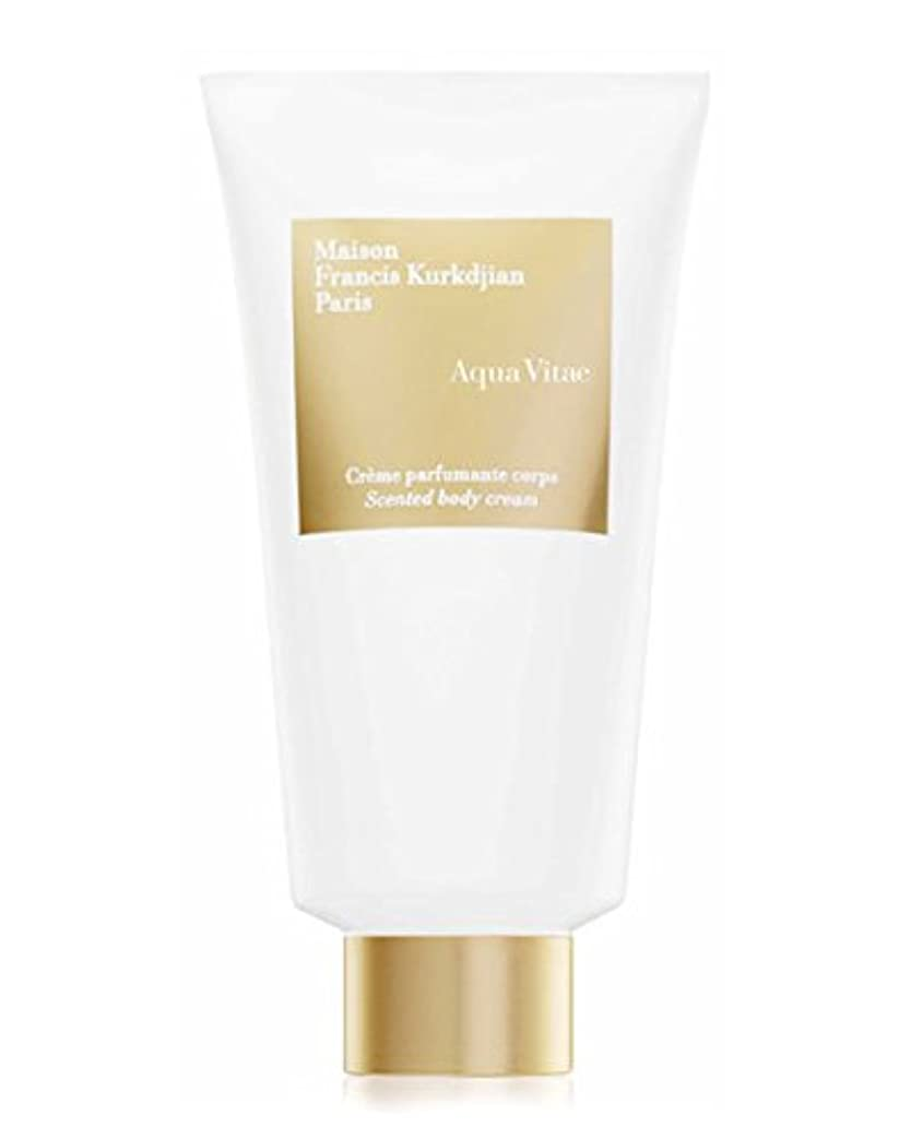 愛国的なメタリック肌Maison Francis Kurkdjian Aqua Vitae (メゾン フランシス クルジャン アクア ビタエ) 5.0 oz (150ml) Scented body cream