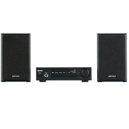 iBUFFALO スピーカーシステム 2.0ch 高音質BBEテクノロジー ブラック BSSP10
