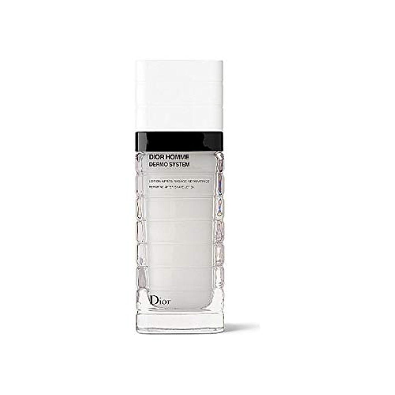 七面鳥すり精通した[Dior] ディオールの真皮システムなだめるようなローション100ミリリットル - Dior Dermo System Soothing Lotion 100ml [並行輸入品]
