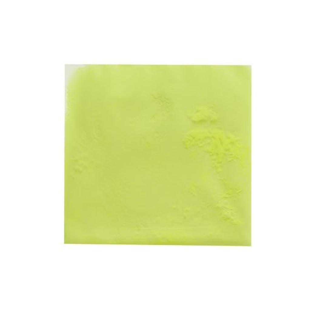 法王認めるゴムピカエース ネイル用パウダー ピカエース 夜光顔料 蓄光性 #105 レモン 3g アート材