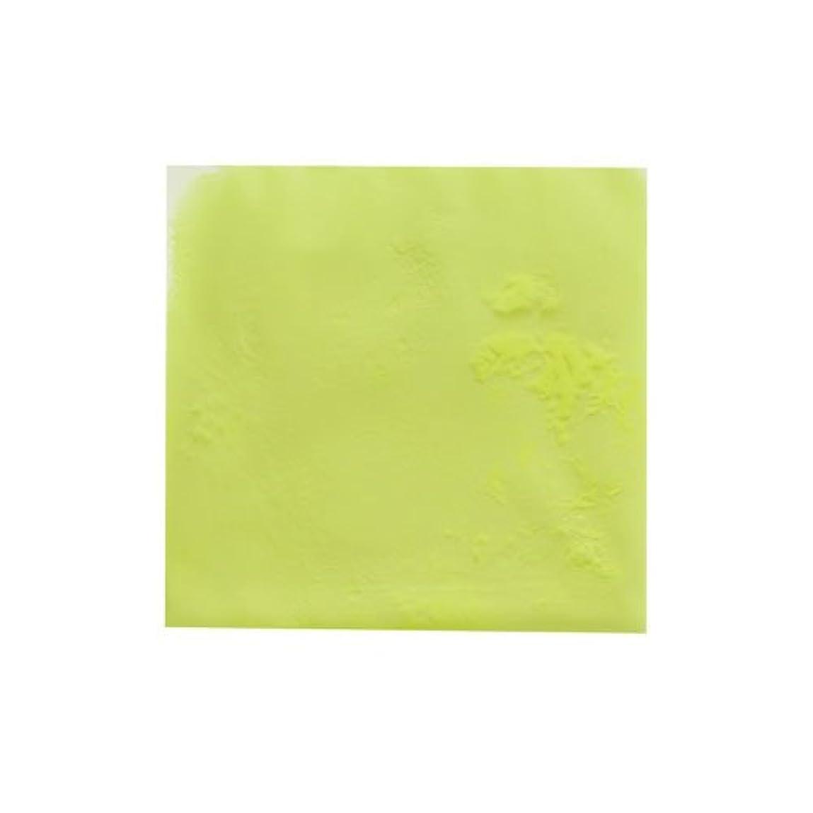 罰肘帽子ピカエース ネイル用パウダー ピカエース 夜光顔料 蓄光性 #105 レモン 3g アート材