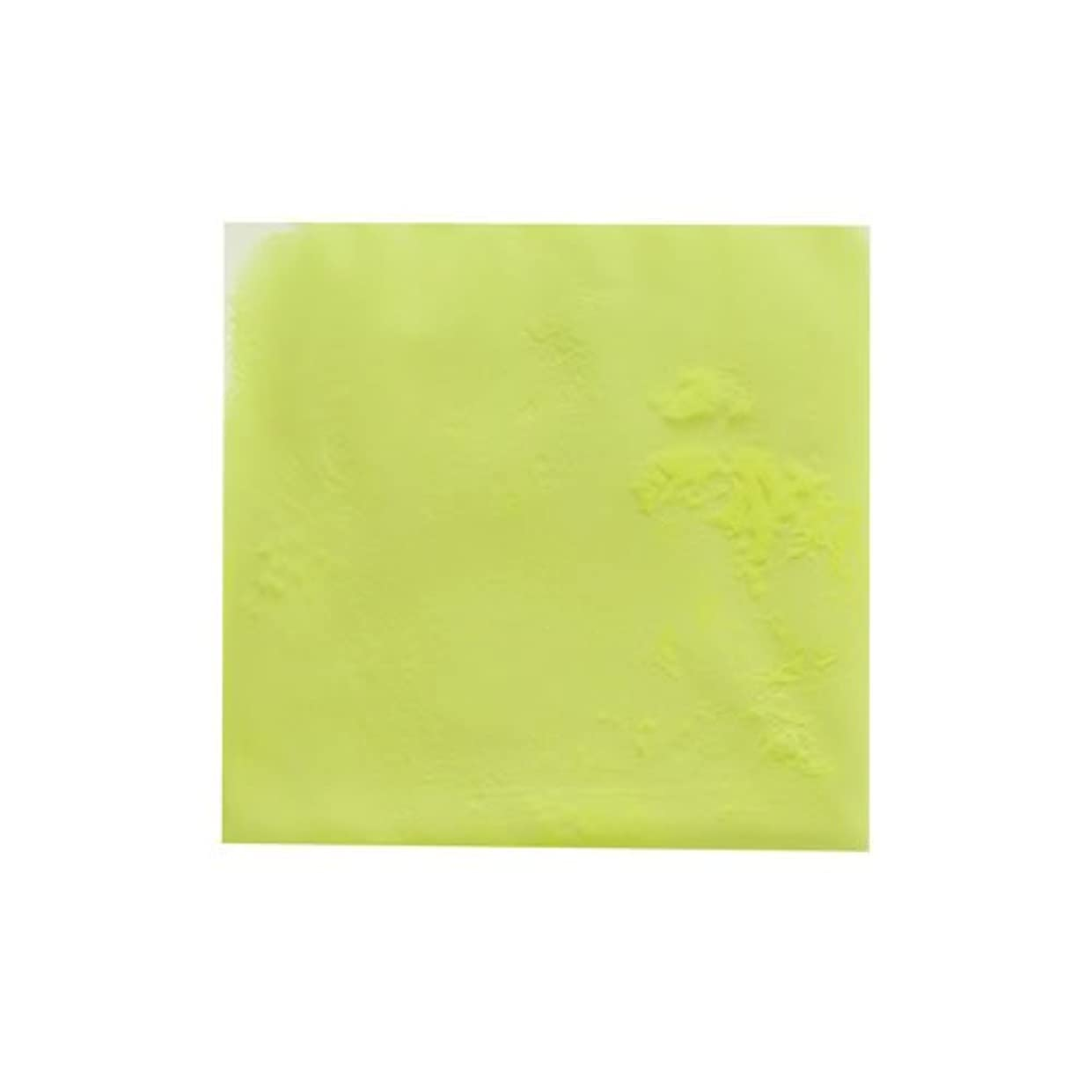 キッチン類似性水ピカエース ネイル用パウダー ピカエース 夜光顔料 蓄光性 #105 レモン 3g アート材