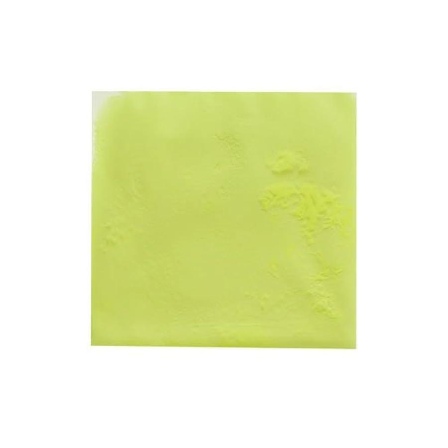 懲らしめ火星エネルギーピカエース ネイル用パウダー ピカエース 夜光顔料 蓄光性 #105 レモン 3g アート材