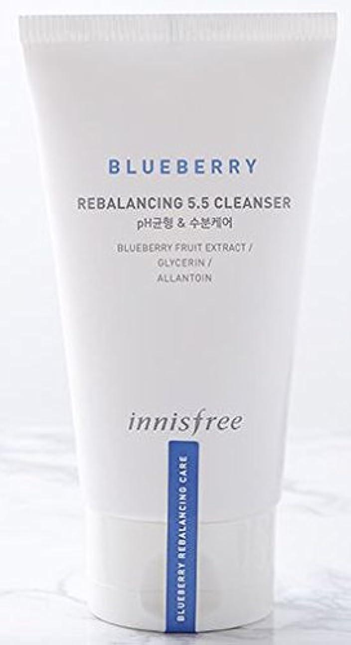 アクセスできないポスト印象派バーガー[Innisfree] Blueberry Rebalancing 5.5 Cleanser 100ml [並行輸入品]