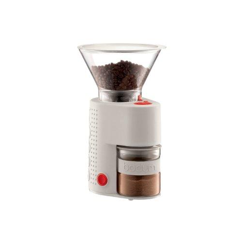 bodum BISTRO 電気式コーヒーグラインダー オフホワイト 10903-913JP