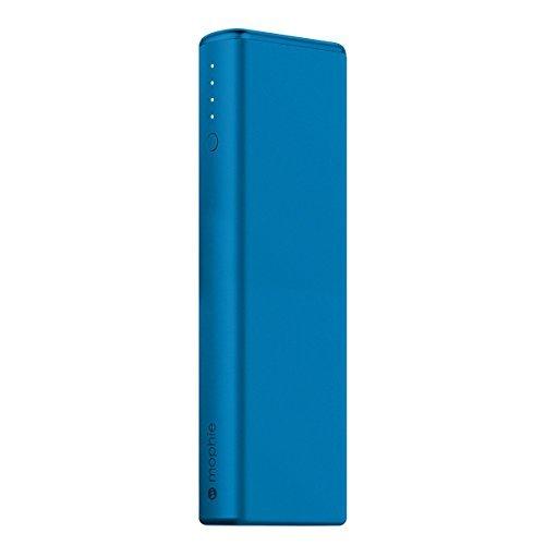日本正規品・1年保証mophie power boost XL (急速充電対応 10400mAh モバイルバッテリー) ブルー MOP-BY-000150