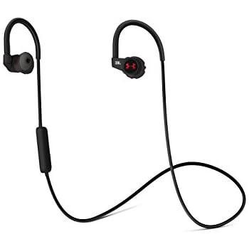 JBL UA Sport Wireless HEART RATE Bluetoothイヤホン 心拍センサー&トーンセンサー搭載/IPX5防水/アンダーアーマー JBLコラボレーションモデル ブラック UAJBLHRMB 【国内正規品】