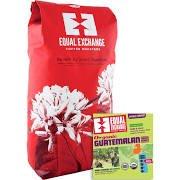 Equal Exchange 2300025kg有機Single OriginsコーヒーガテマラダークバルクWhole Bean